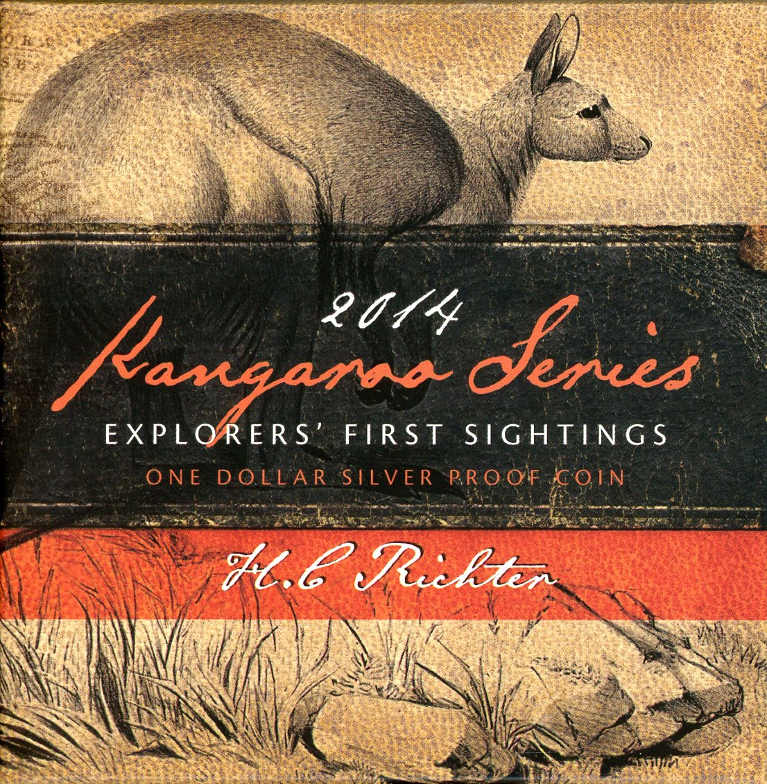 Thumbnail for 2014 Kanga Series Explorer's First Sightings $1 Silver Proof Coin