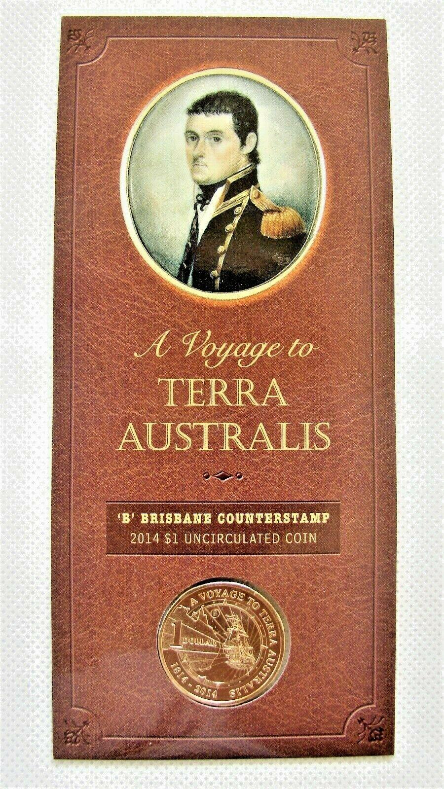 Thumbnail for 2014 Terra Australis Brisbane Counterstamp $1.00 on Card