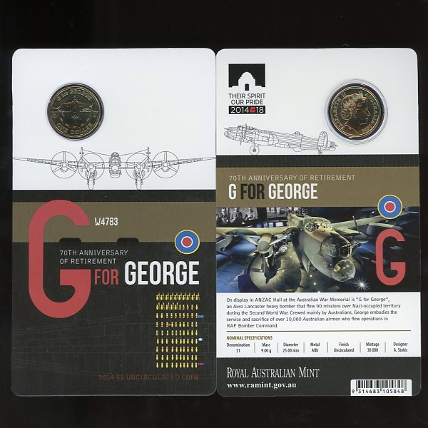 Thumbnail for 2014 - G for George 70th Anniversary of Retirement