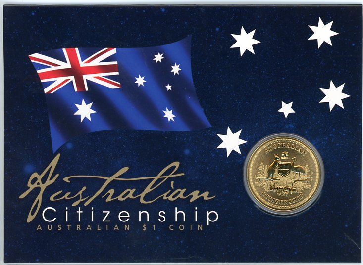Thumbnail for 2015 Australian Citizenship Dollar