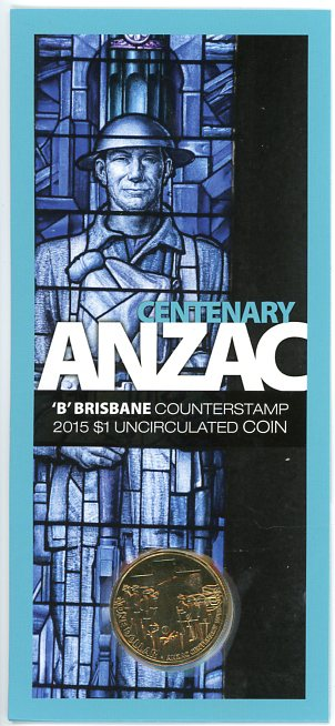 Thumbnail for 2015 Centenary Anzac - B Mintmark