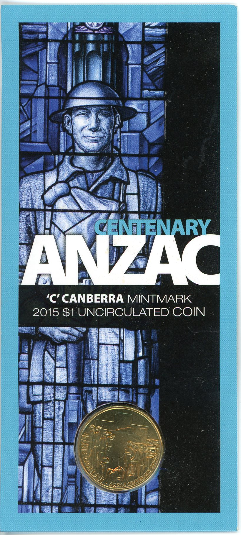 Thumbnail for 2015 Centenary Anzac - C Mintmark