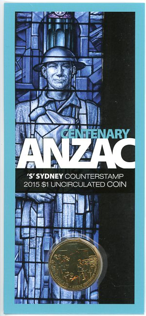 Thumbnail for 2015 Centenary Anzac - S Counterstamp