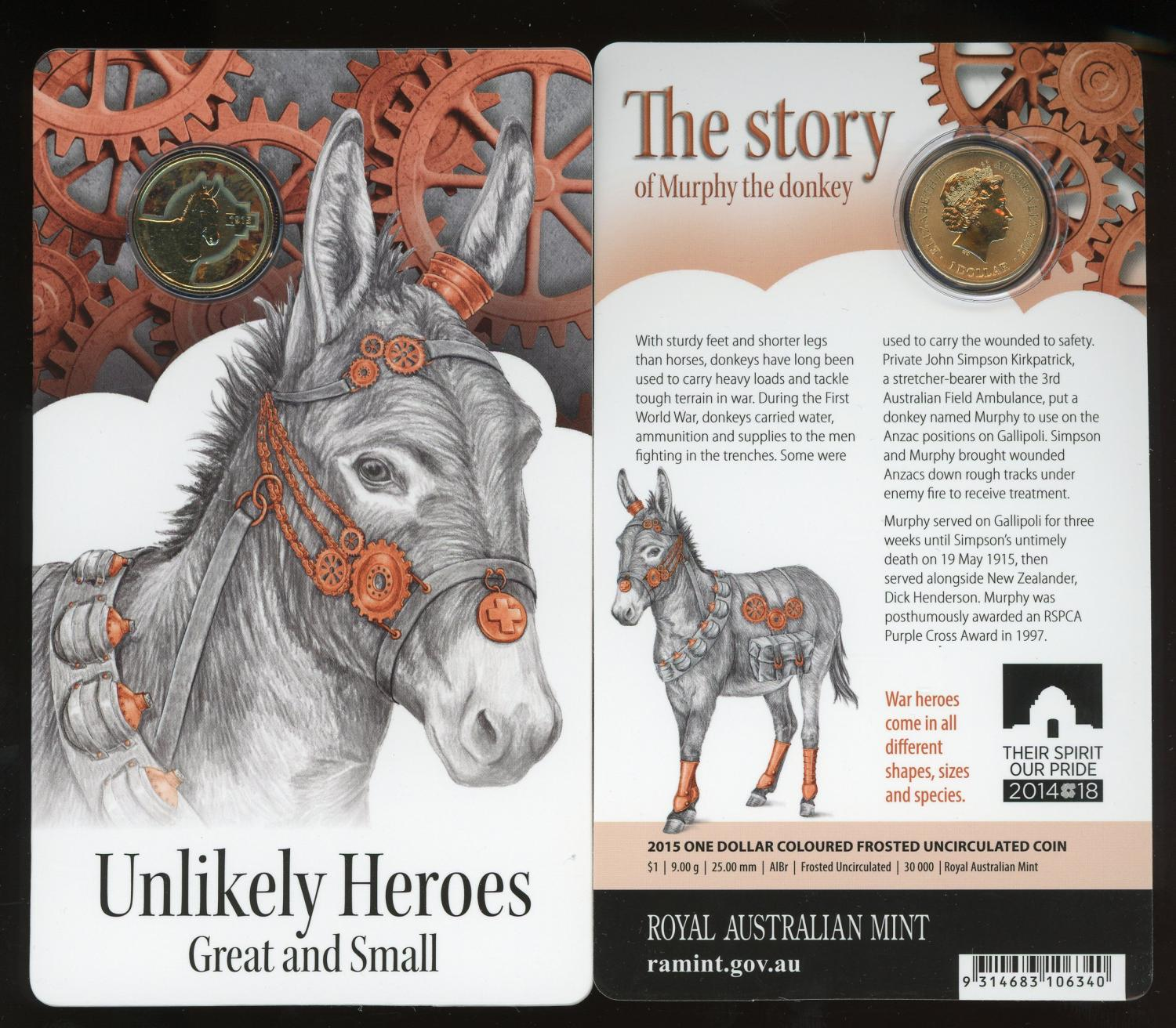 Thumbnail for 2015 Unlikely Heroes - Murphy the Donkey