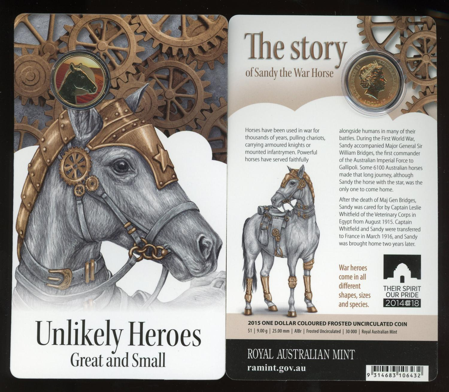 Thumbnail for 2015 Unlikely Heroes - Sandy the War Horse