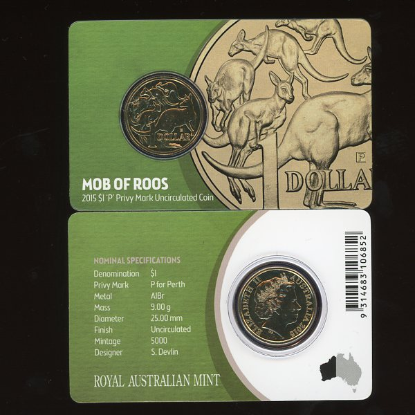 Thumbnail for 2015 Mob of Roos Privy Mark P