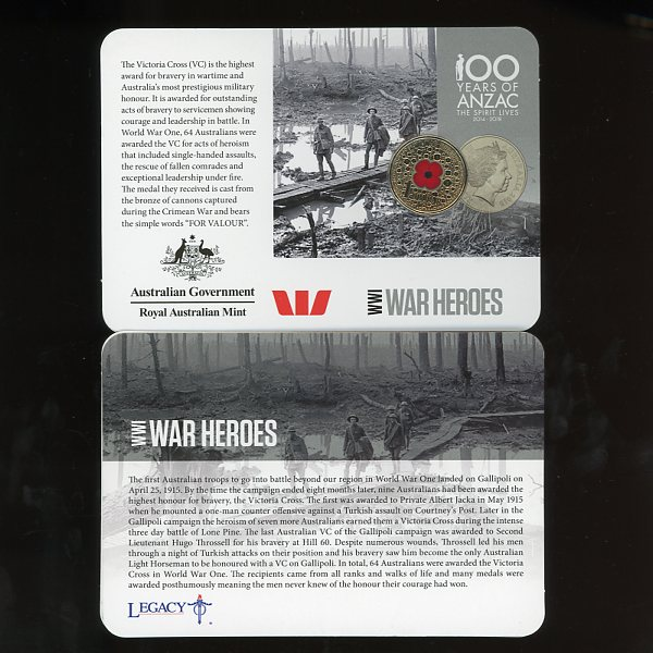 Thumbnail for 2015 Red Poppy WW1 War Heroes
