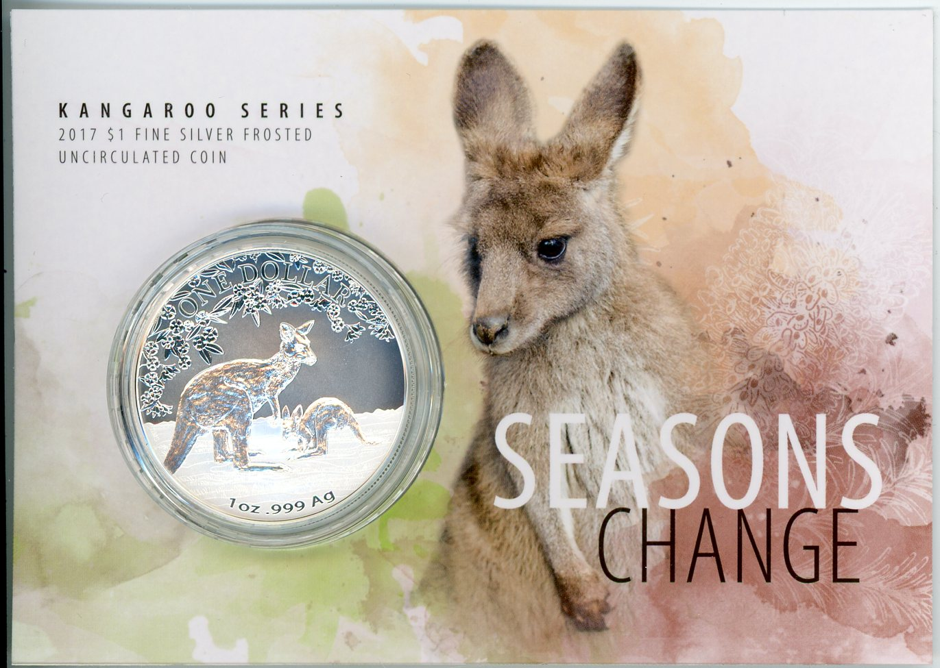 Thumbnail for 2017 $1 Kangaroo Seasons Change
