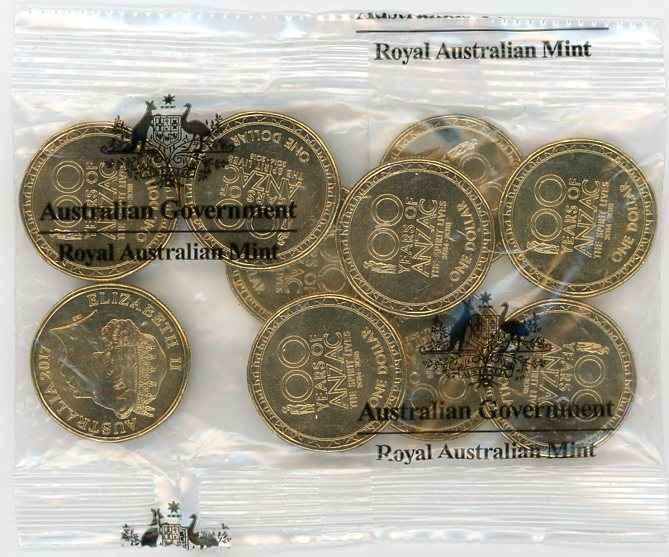 Thumbnail for 2017 100 Years of Anzac Ram Satchel of 10