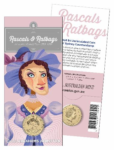 Thumbnail for 2018 Rascals & Ratbags Uncirculated Dollar - S Mintmark