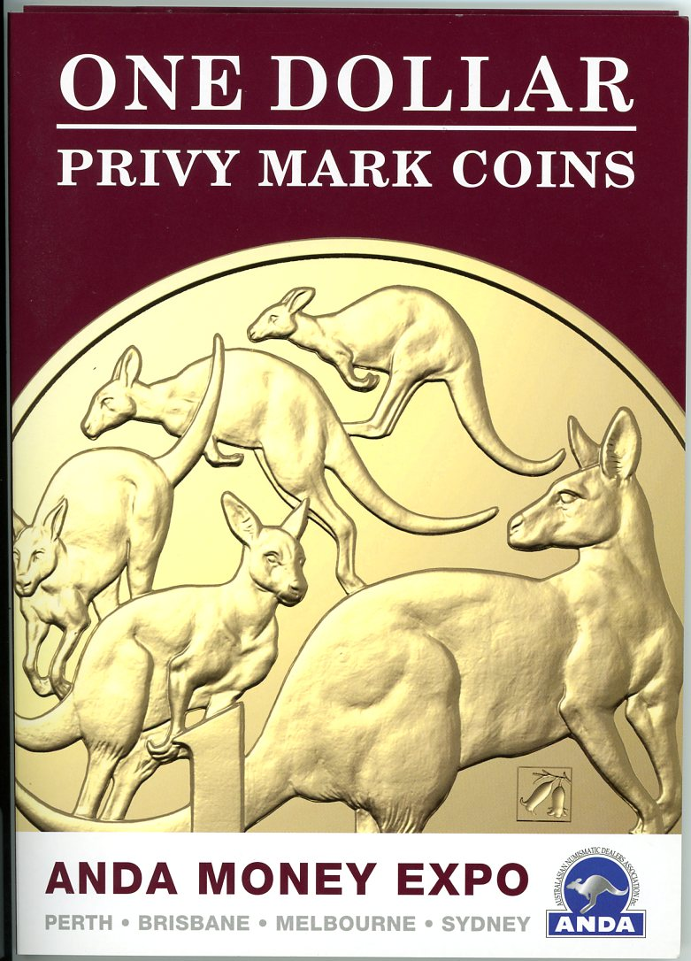 Thumbnail for 2019 One Dollar Privy Mark Coins - ANDA Money Expo