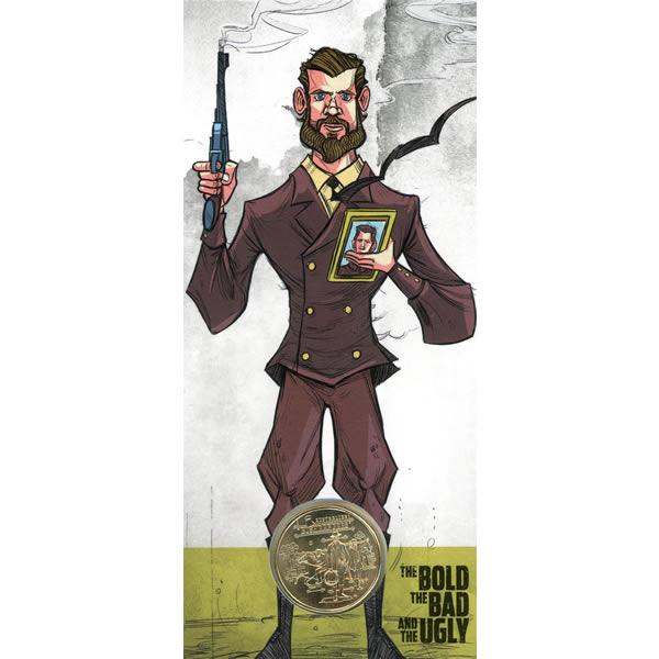 Thumbnail for 2019 $1 UNC Coin 'C' Canberra Mintmark - Australian Bushrangers Captain Moonlite