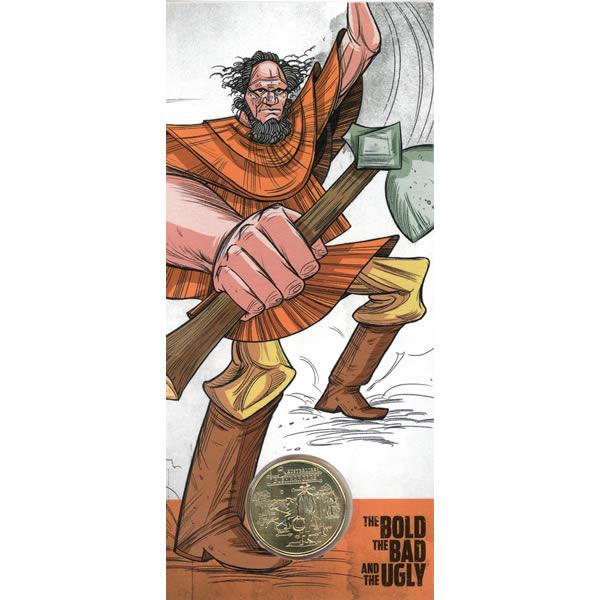 Thumbnail for 2019 $1 UNC Coin 'C' Canberra Mintmark - Australian Bushrangers Moondyne Joe