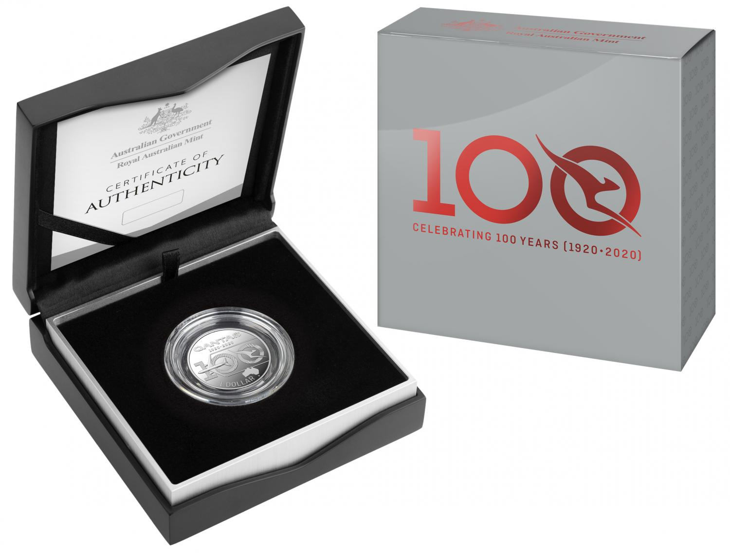 Thumbnail for 2020 Qantas Silver Half oz One Dollar Proof Coin