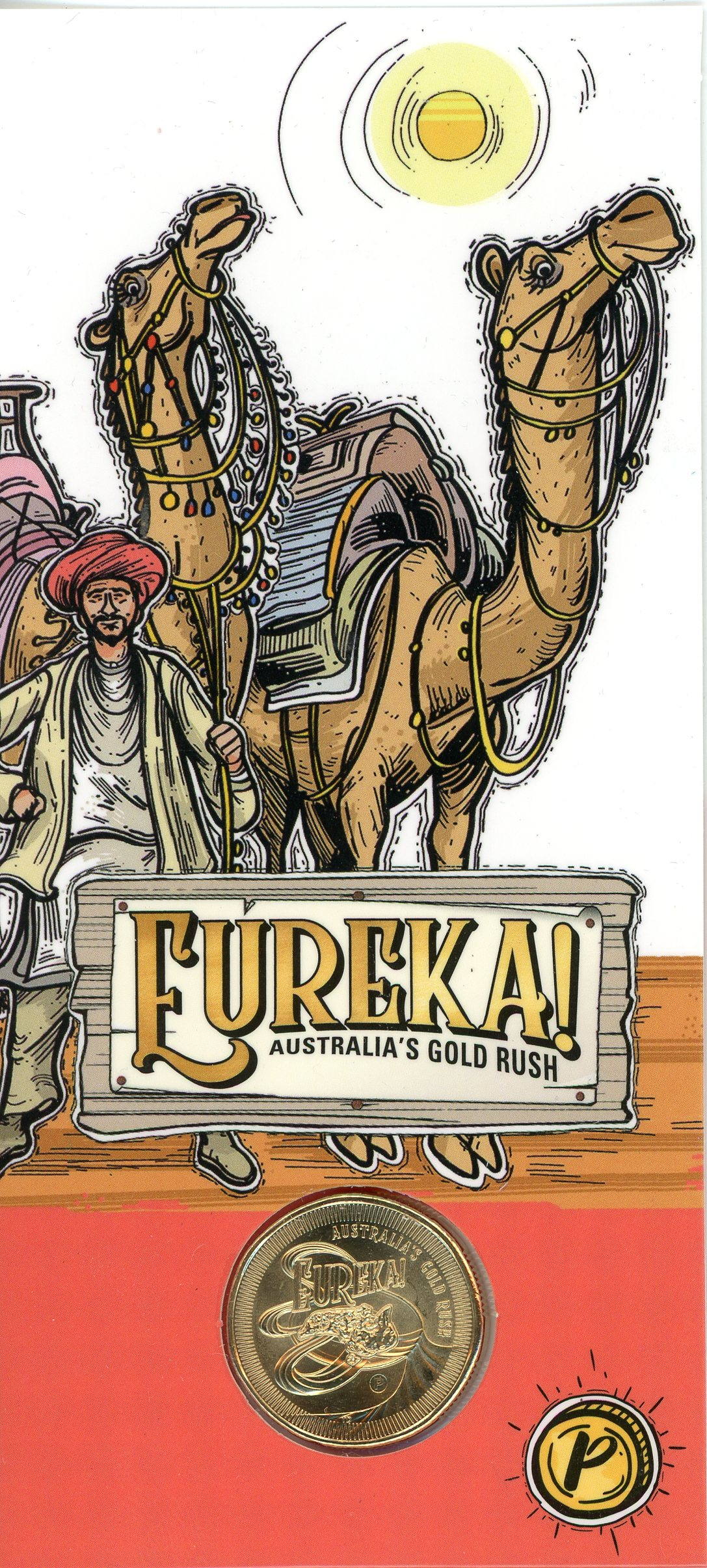 Thumbnail for 2020 $1 UNC 'P' Mintmark Australia's Gold rush - Camels of the Gold Fields