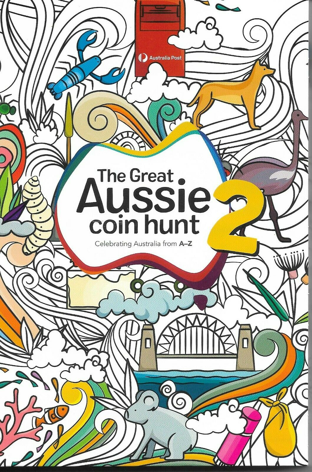 Thumbnail for 2021 Great Aussie Coin Hunt 2 - Folder only - No Coins