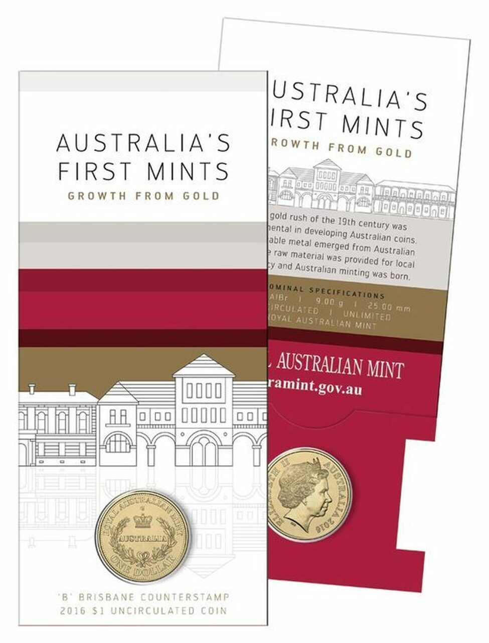 Thumbnail for 2016 Australia's First Mints Growth from Gold - B Counterstamp