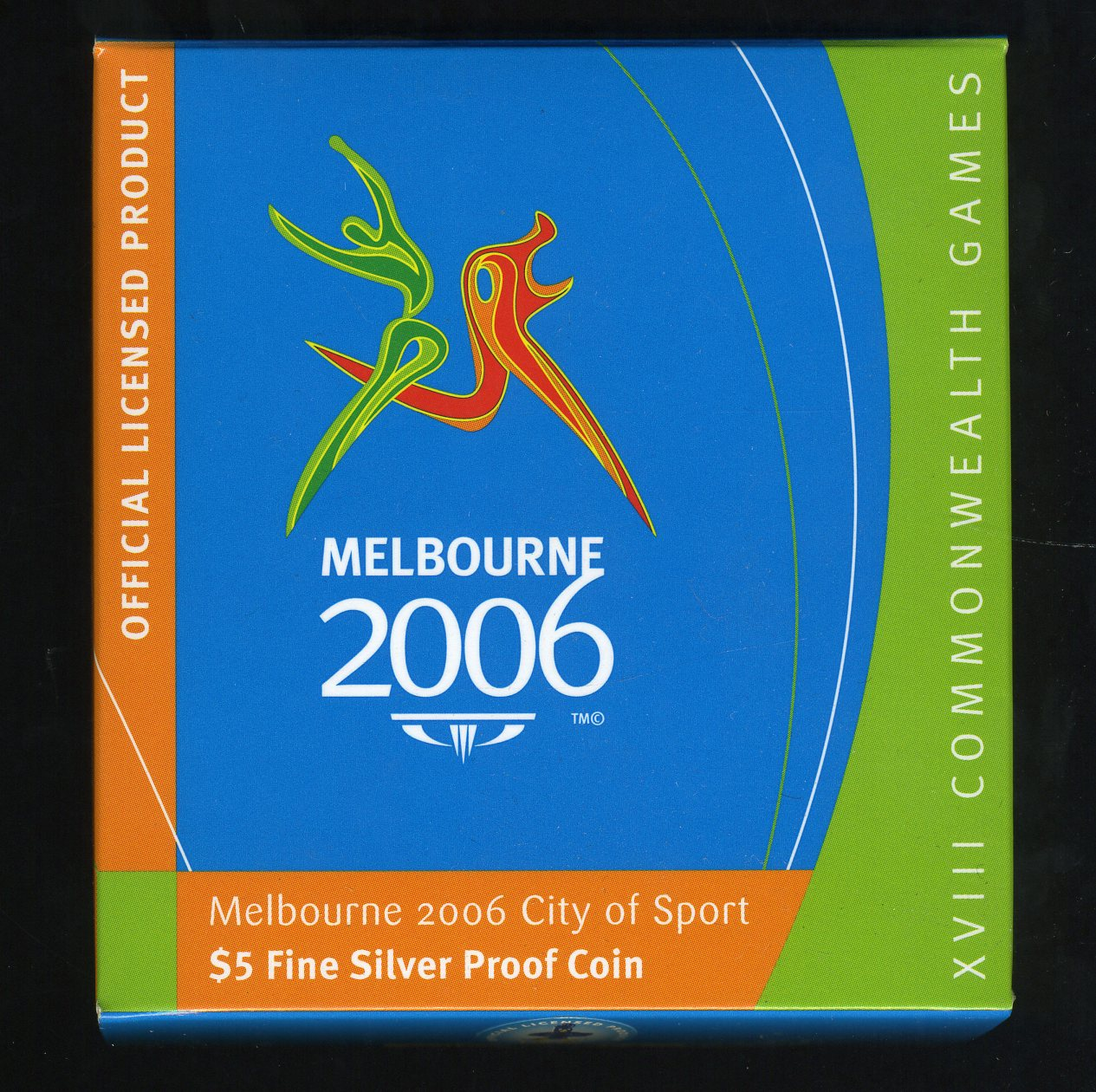 Thumbnail for 2006 Melbourne Commonwealth Games $5  Silver Proof