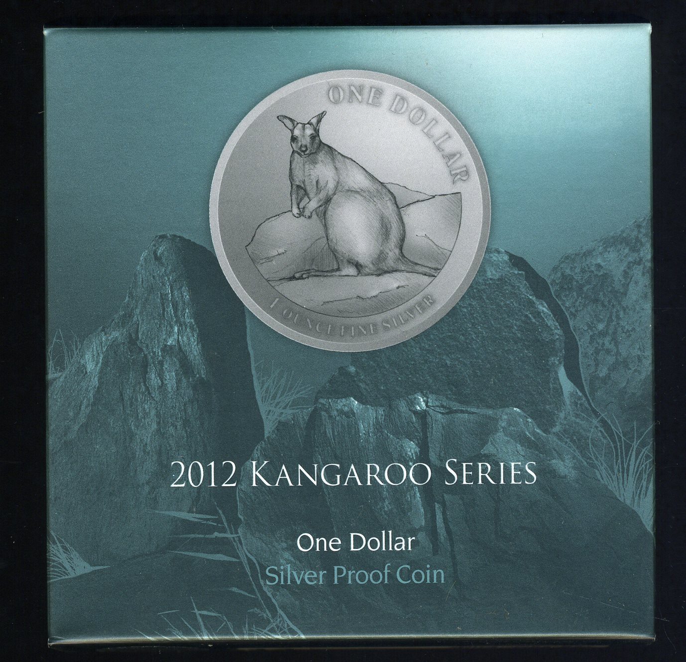 Thumbnail for 2012 1oz Silver Proof Kangaroo Dollar - Mareeba Rock-Wallaby