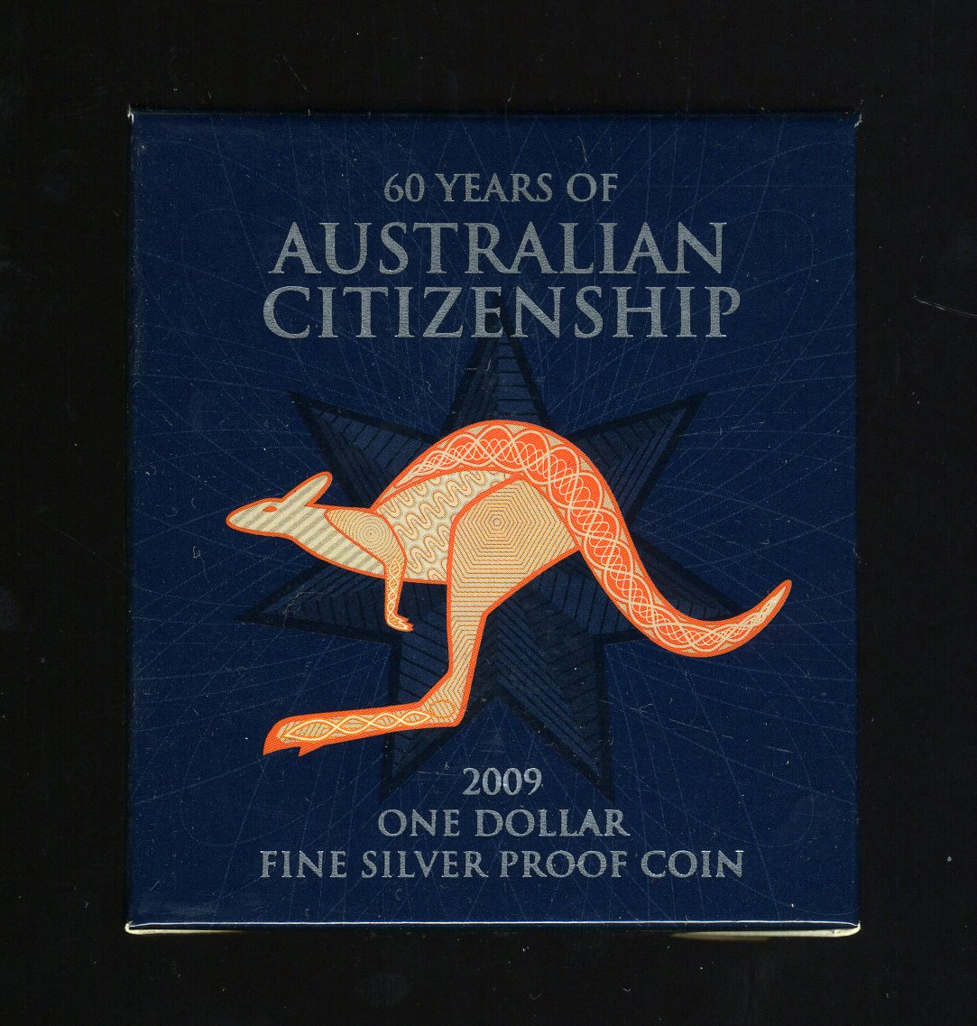 Thumbnail for 2009 $1 Silver Proof - 60 Years of Australian Citizenship