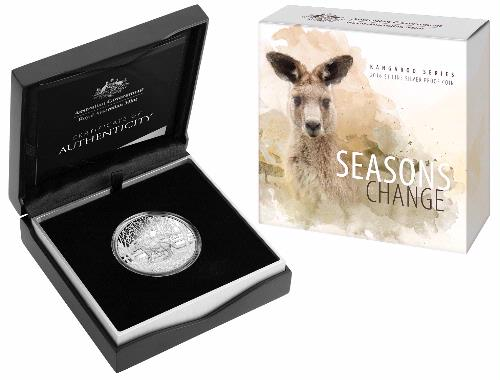 Thumbnail for 2016 Kangaroo $1.00 Silver Proof - Seasons Change