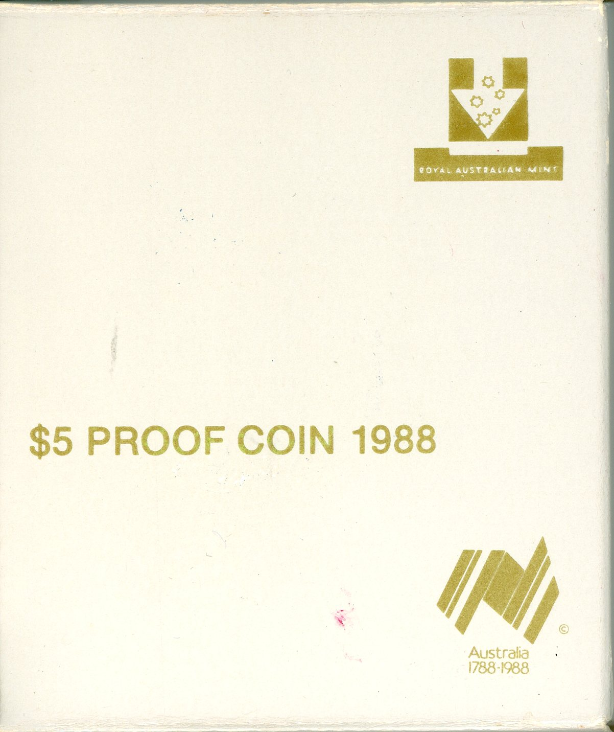 Thumbnail for 1988 $5 Proof - Parliament House