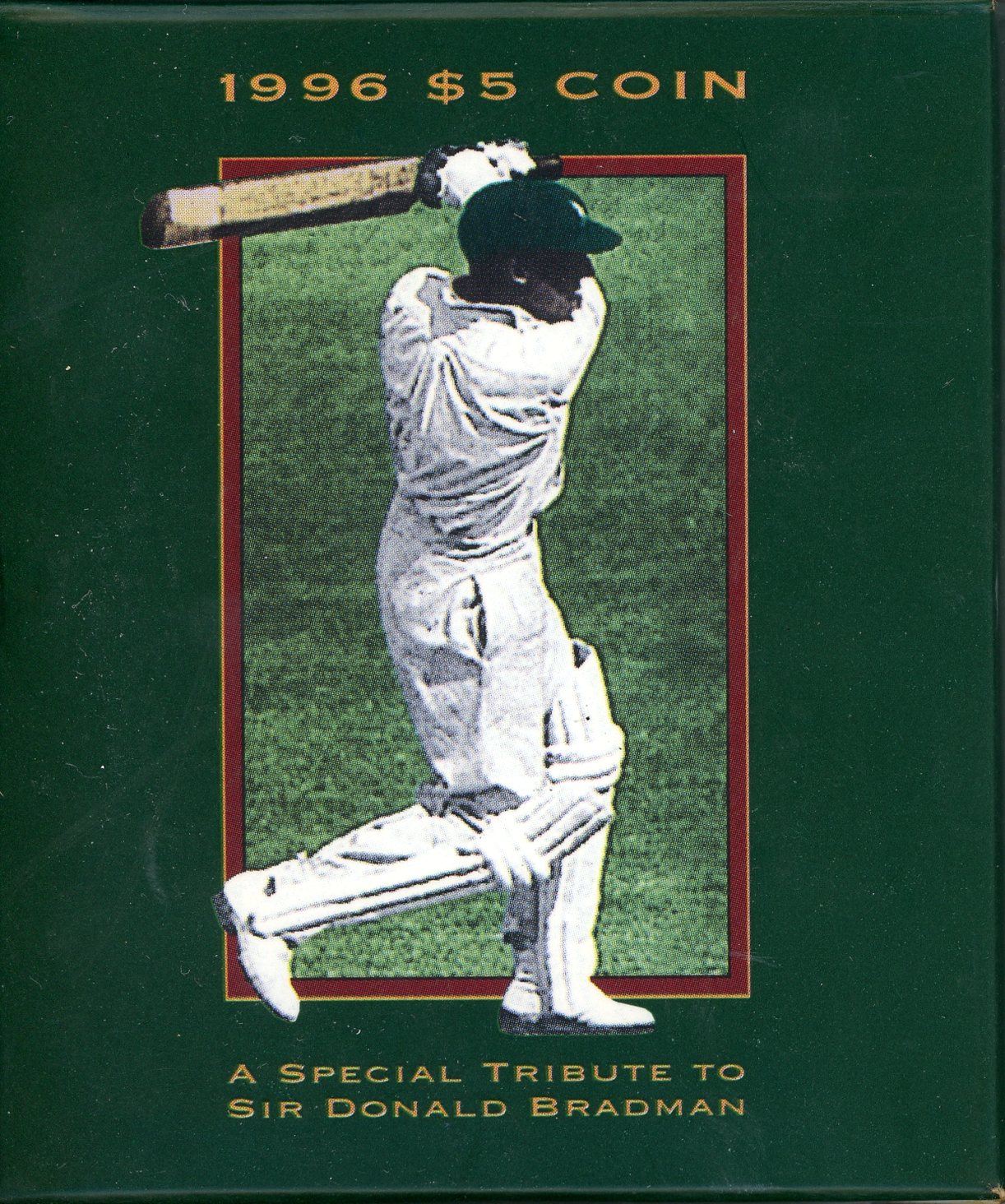 Thumbnail for 1996 Sir Donald Bradman $5 Proof Coin