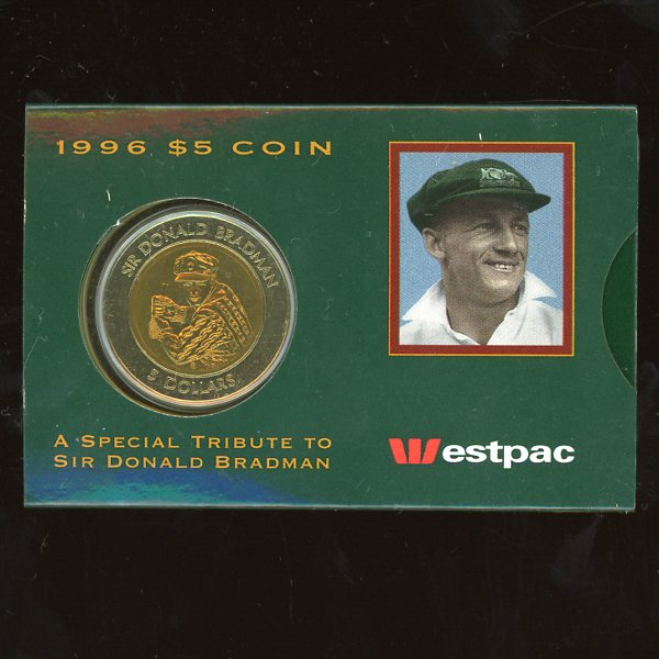 Thumbnail for 1996 Sir Donald Bradman - Uncirculated