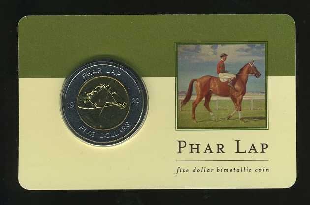 Thumbnail for 2000 Australia Bi-Metal Uncirculated Coin - Phar Lap