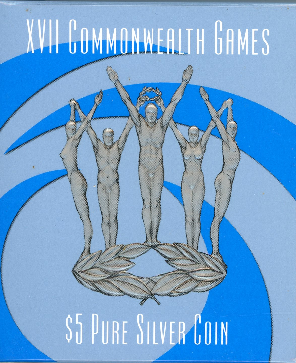 Thumbnail for 2002 Commonwealth Games Silver 1oz $5 Proof Coin