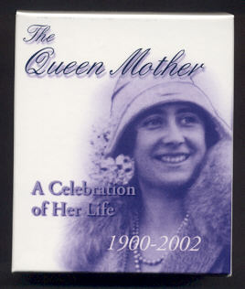 Thumbnail for 2002 Queen Mother $5 Silver Proof Coin