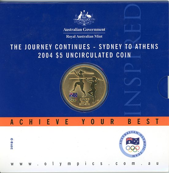Thumbnail for 2004 The Journey Continues - Sydney to Athens UNC