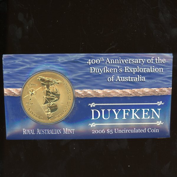 Thumbnail for 2006 400th Anniversary of Duyfken's Exploration of Australia UNC