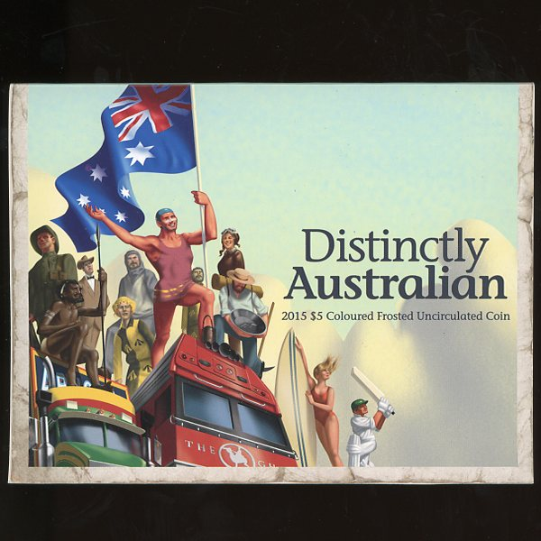 Thumbnail for 2015 Distinctly Australian Coloured $5 - Uncirculated