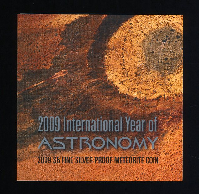 Thumbnail for 2009 International Year of Astronomy $5 Silver Proof Coin