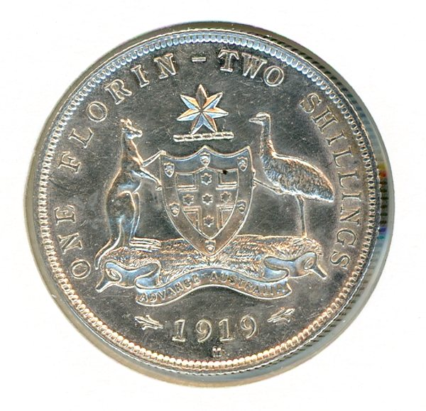 Thumbnail for 1919 George V Florin gEF