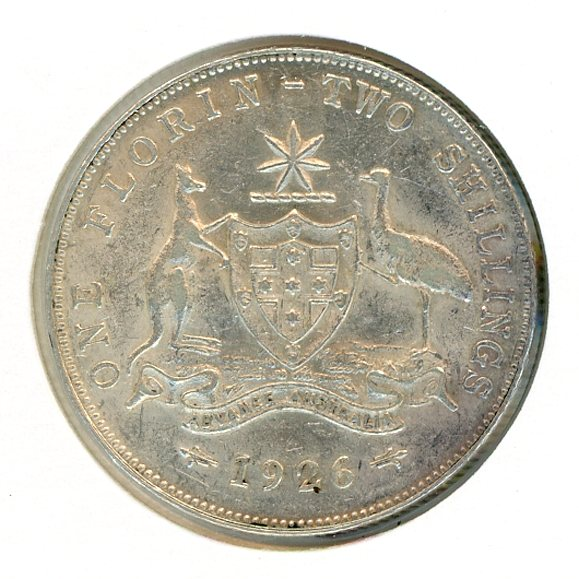 Thumbnail for 1926 George V Florin aEF