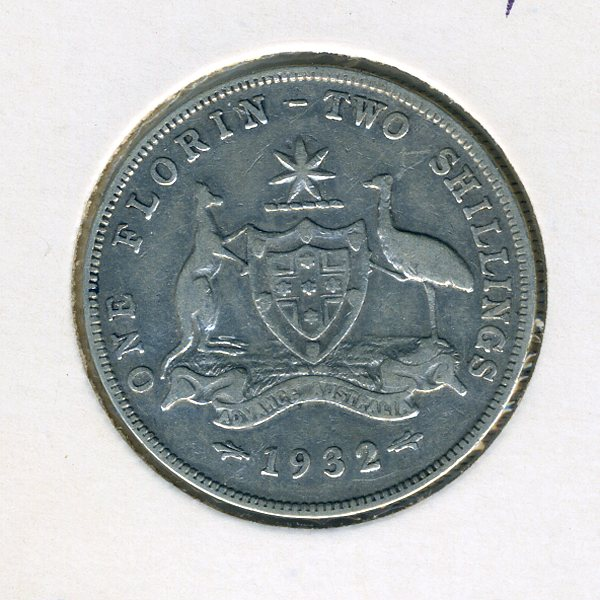 Thumbnail for 1932 George V Florin  (A) - VG