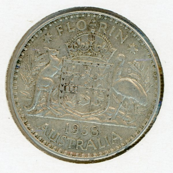 Thumbnail for 1938 George VI Florin - EF