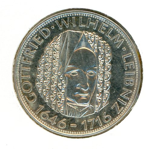 Thumbnail for 1966D German Silver Five Marks (A)