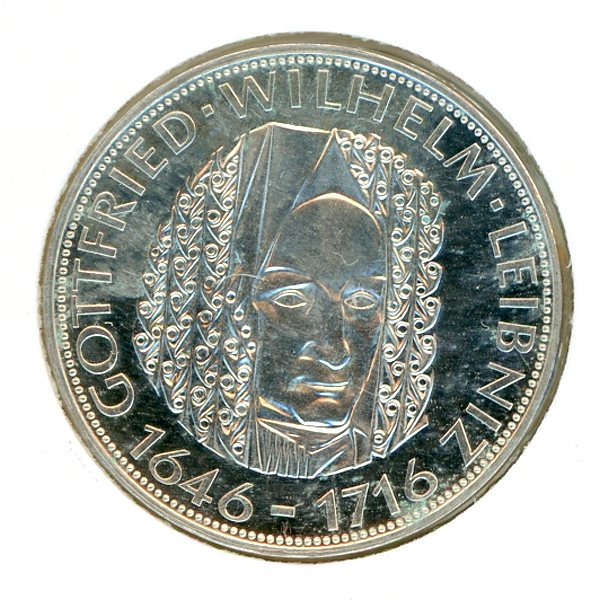 Thumbnail for 1966D German Silver Five Marks (B)