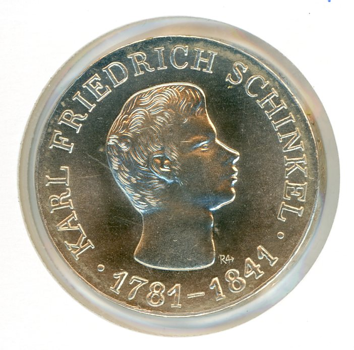 Thumbnail for 1966 DDR Silver Ten Marks UNC