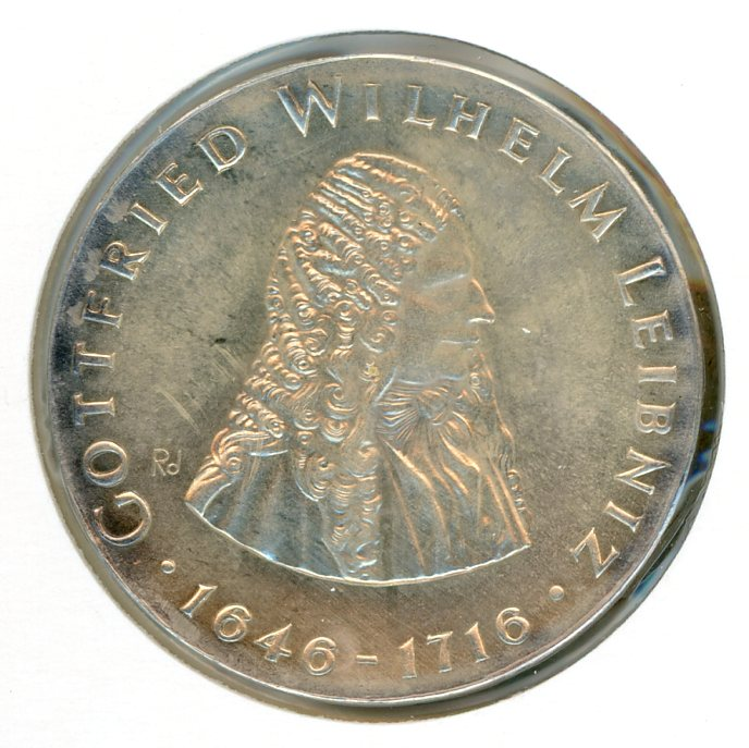 Thumbnail for 1966 DDR Silver 20 Marks UNC
