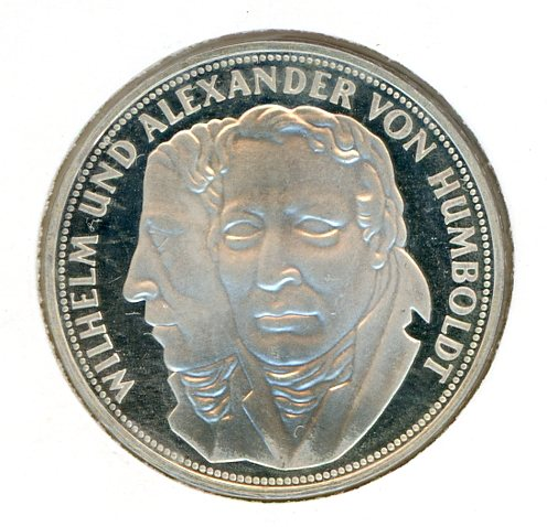 Thumbnail for 1967F German Silver Five Marks (A)