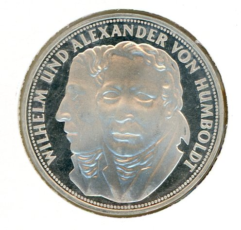 Thumbnail for 1967F German Silver Five Marks (B)