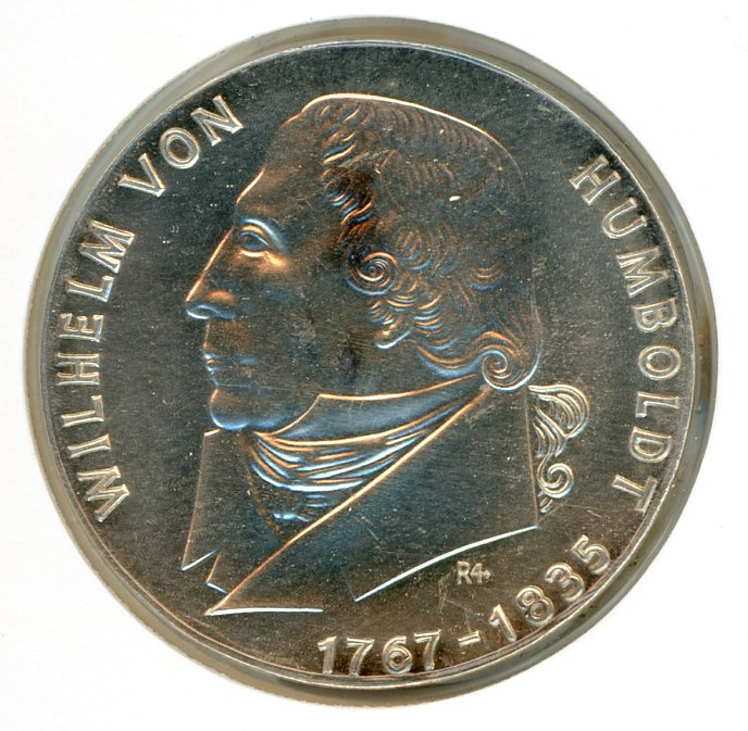 Thumbnail for 1967 DDR Silver 20 Marks UNC