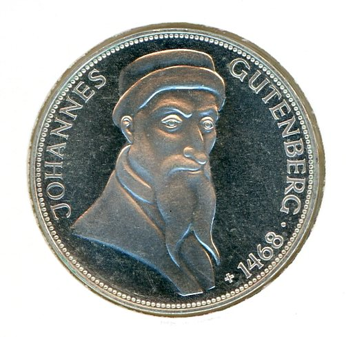 Thumbnail for 1968G German Silver Five Marks (B)