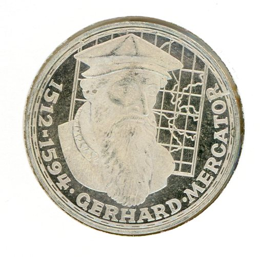Thumbnail for 1969F German Silver Five Marks (A) - Long