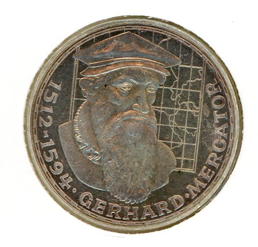 Thumbnail for 1969F German Silver Five Marks (A)