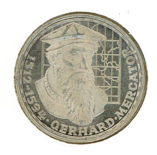 Thumbnail for 1969F German Silver Five Marks (B) - Long